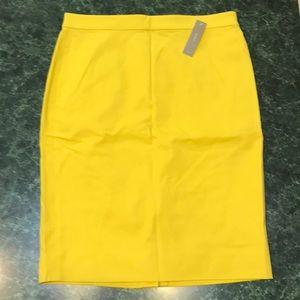 J. Crew Pencil Skirt! NWT!